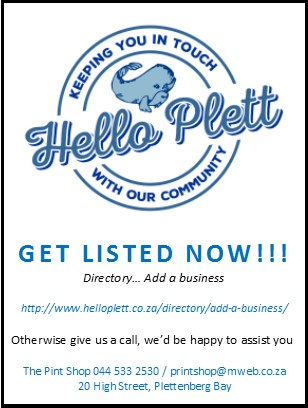 Hello Plett Business Directory