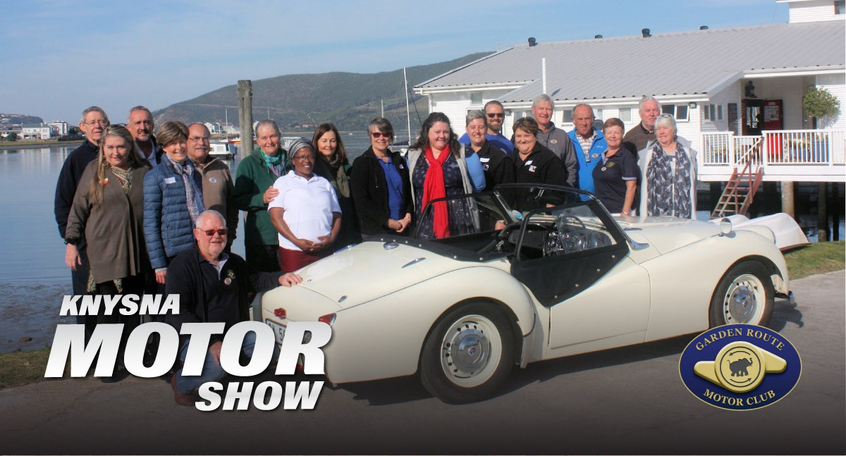 The good news is that the Knysna motor show does it again for the Knysna and Plettenberg Bay charities !!