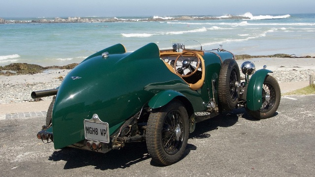 Pre-War MGs, micro-cars, and a very rare Bentley for the Knysna Motor Show
